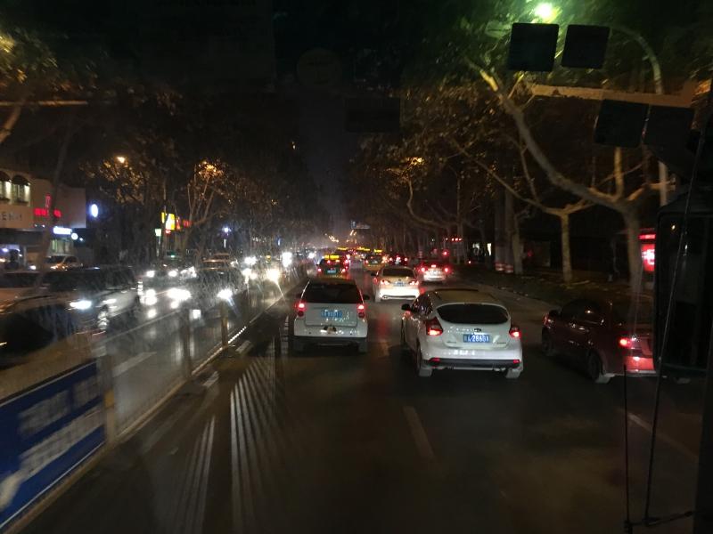 西安城夜路