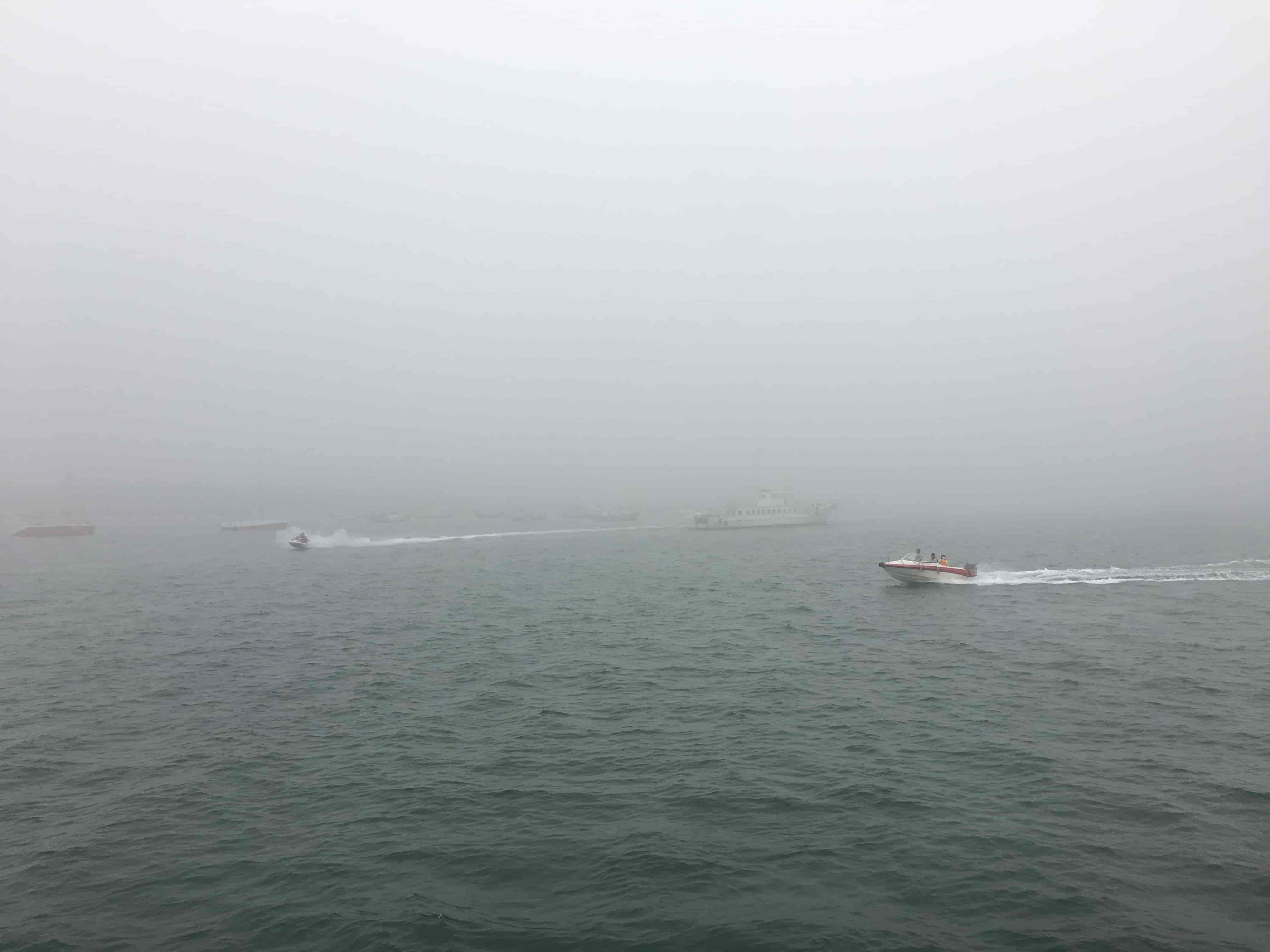 出海的小艇