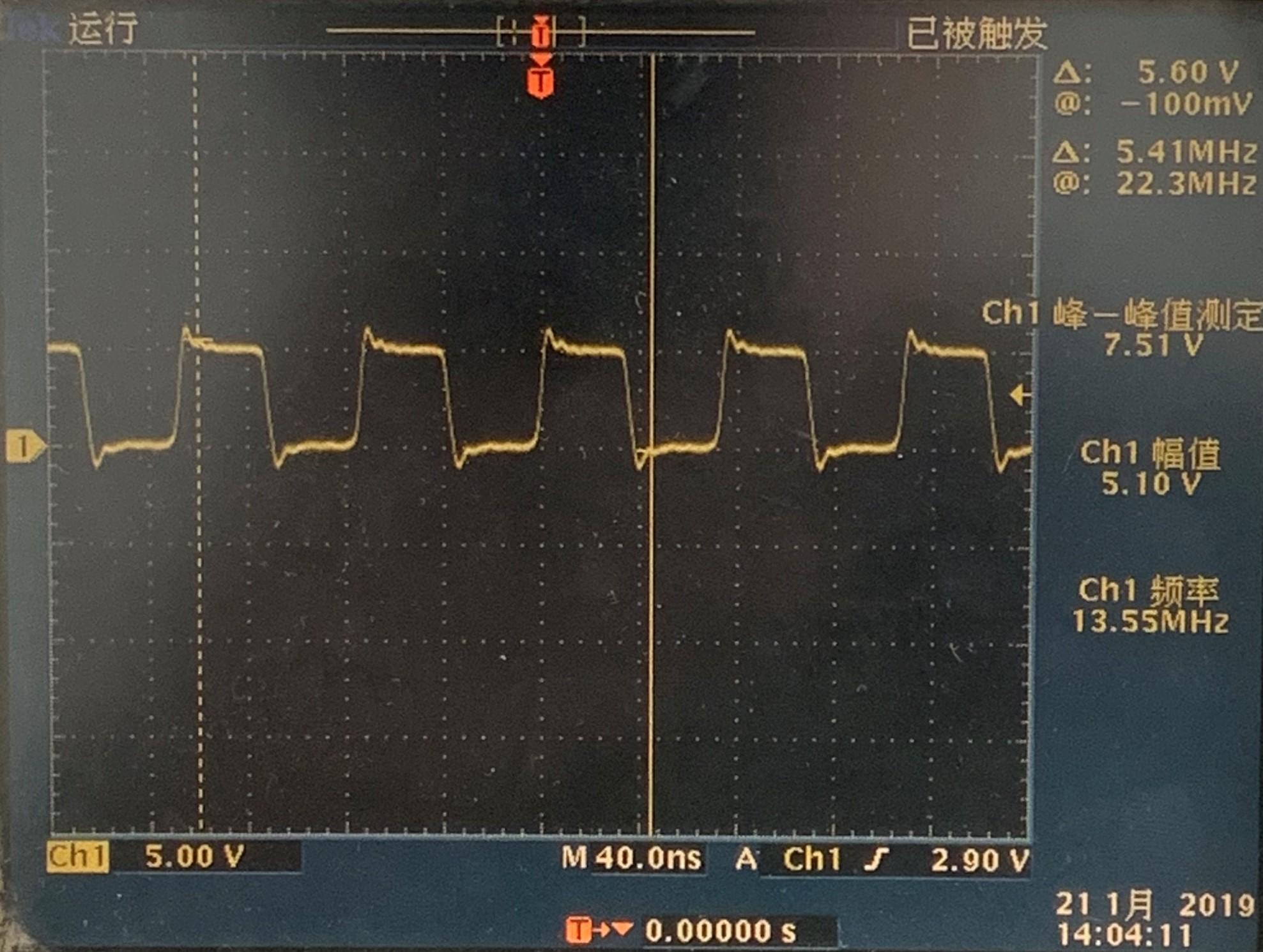 TX正常波形