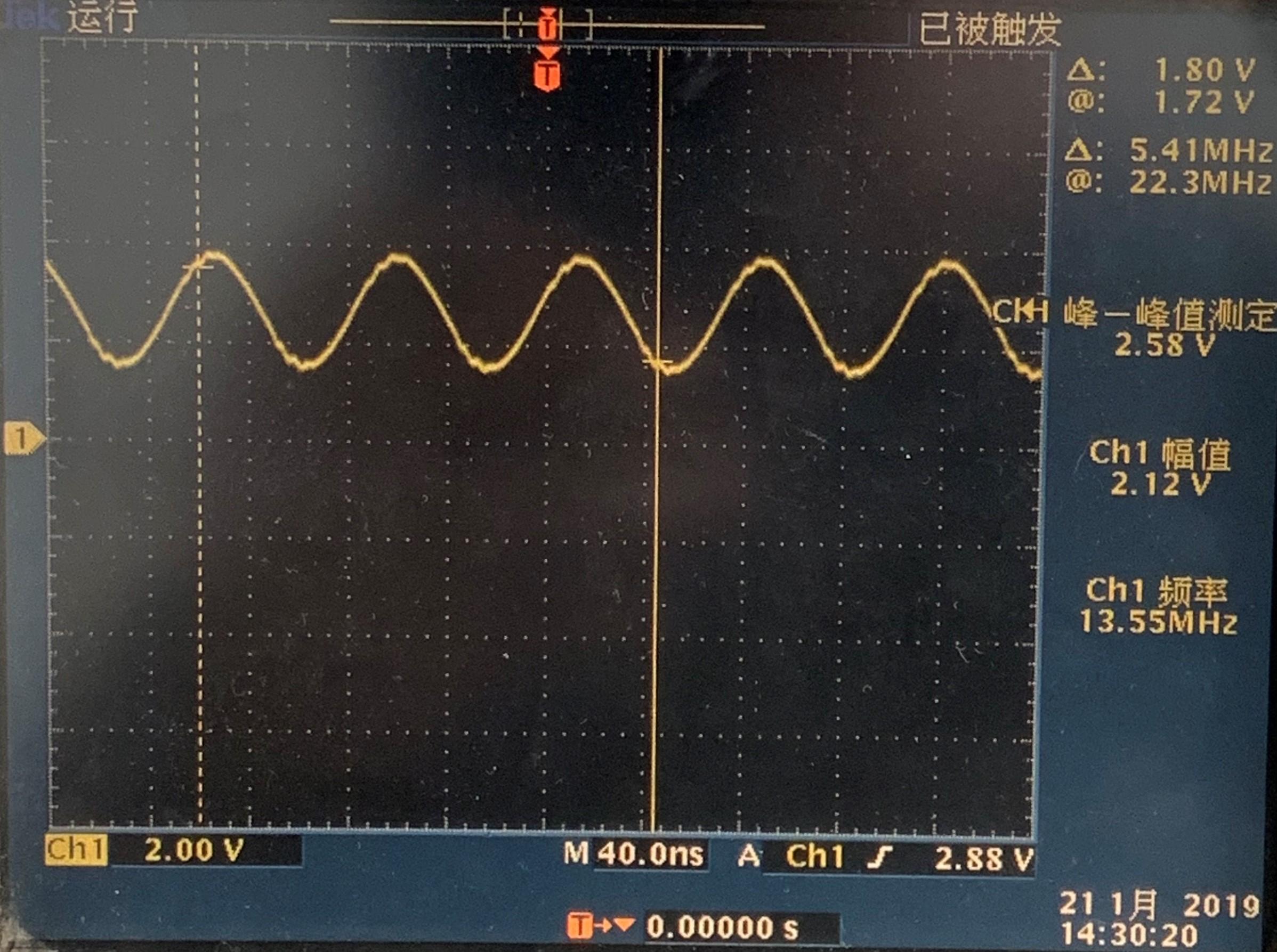 RX正常波形